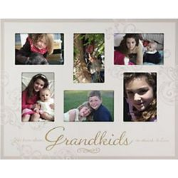 4x6 Grandkids Wooden Collage Frame