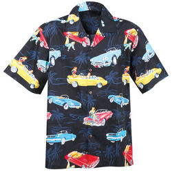 Classic Cars Button Up Shirt