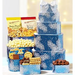 Winter Wonder Decadent Sweets GiftTower