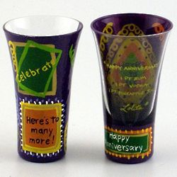 Happy Anniversary Party Shot Glass