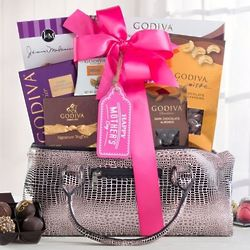 Chocolate, Truffles and Nuts Gift Tower