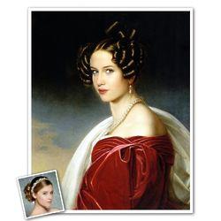 Personalized Custom Photo Princess of Bavaria Art Print