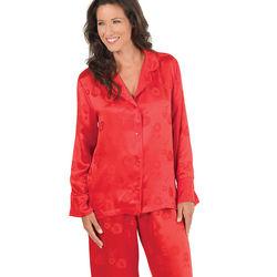 Elegant Silk Pajamas