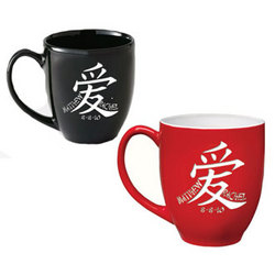 Personalized Chinese Love Bistro Mug with Date