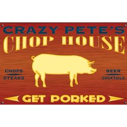Personalized Chop House Sign