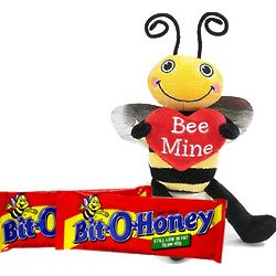 Bee My Bit O Honey Plush Bee Valentine