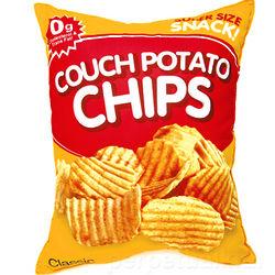Giant Potato Chip Bag Pillow