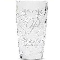 Personalized Crystal Vase