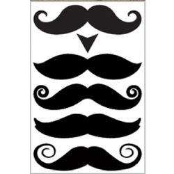 Gentleman Mustache Tattoos