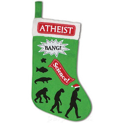 Atheist Christmas Stocking