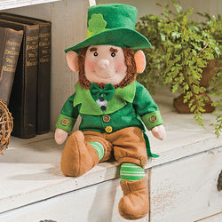 St. Patrick's Day Leprechaun Plush Doll