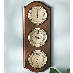 Vertical Triple Dial Weather Station