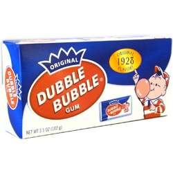 Nostalgic Double Bubble Gum