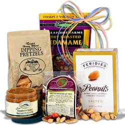 Healthy Gift Basket Stack