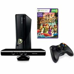 Xbox 360 Console 4GB Kinect Bundle