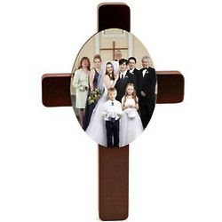 Custom Photo Keepsake Cross
