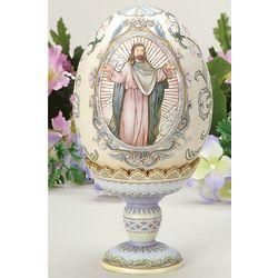 Rejoice Easter Egg on Pedestal