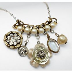 Delicate Vintage Charm Necklace