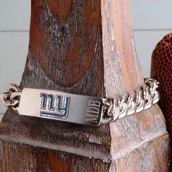 Personalized New York Giants Chunky Chain Bracelet