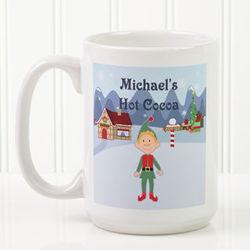 Family Christmas Character Personalized Mug