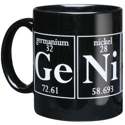Genius Periodic Table Coffee Mug