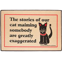 Cat Maiming Stories Doormat