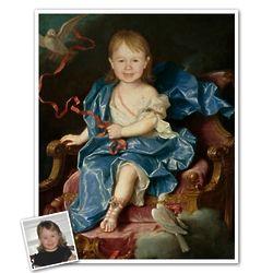 Young Royalty Custom Photo Print