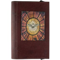 Holy Spirit Confirmation Leather Bible Cover