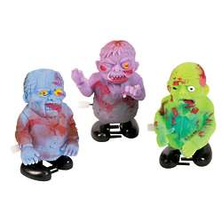 12 Wind-Up Zombie Toys