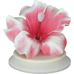 Hibiscus Flower Figurine