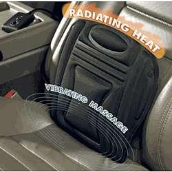 Heating Car Seat Massager Back Cushion