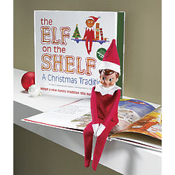 The Elf on the Shelf Book and Doll