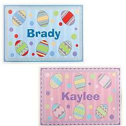 Personalized Plastic Easter Placemat