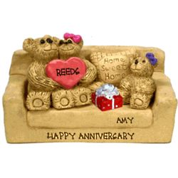 Anniversary Chair for Couples with up to 7 Kids