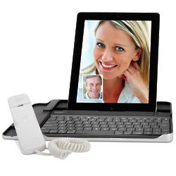 iPad Internet Chat Handset