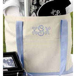 Personalized Carry All Tote Bag