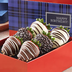 Birthday for Him Chocolate Covered Strawberries