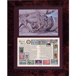 Bull and Bear Stamp Collection