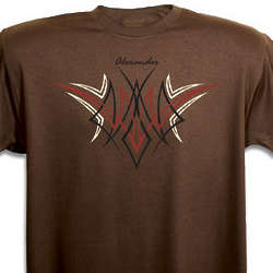 Personalized Men's Tribal T-Shirt