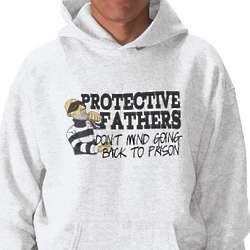 Protective Fathers Hooded Pullover