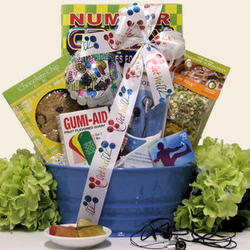 iTunes Therapy Boy's Get Well Gift Basket
