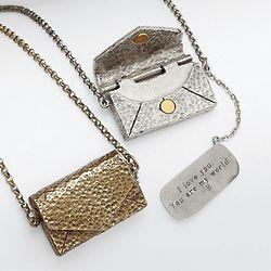 Vintage Love Letter Necklace