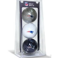 New England Patriots 3 Golf Ball Pack