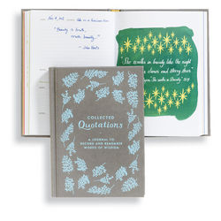 Collected Quotations Quote Book and Journal