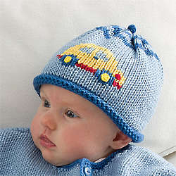 On the Go Baby Boy's Knit Hat