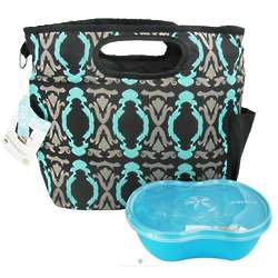 Baroque Design Insulated Lunch Tote with Container