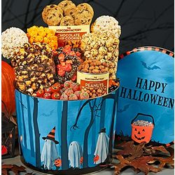 Trick or Trees Popcorn and Sweets Gift Tin