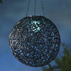 Hanging Metal Solar Lantern