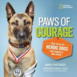 Paws of Courage Book