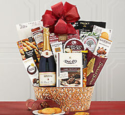 Houdini Blanc de Noir Champagne Gift Basket